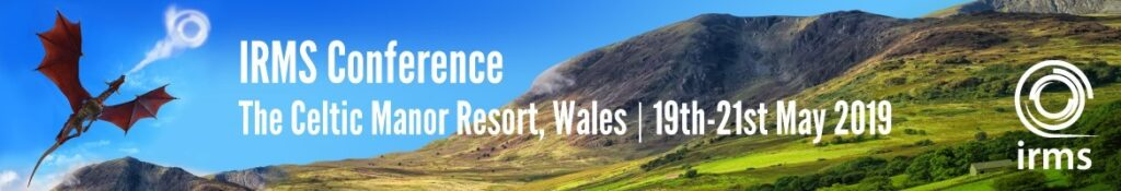 IRMS Conference header
