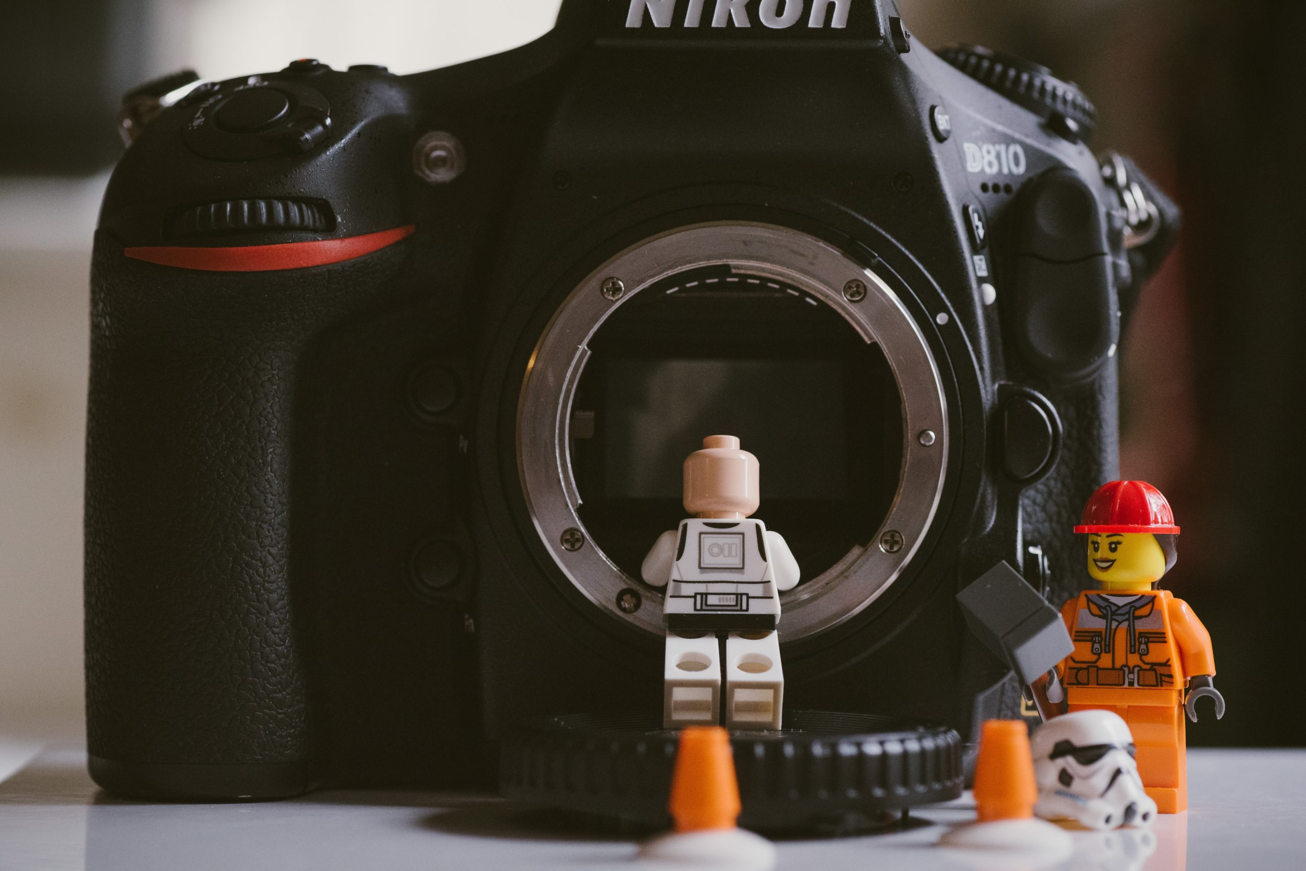 lego managing camera to mind privacy