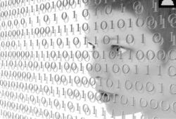 woman around data