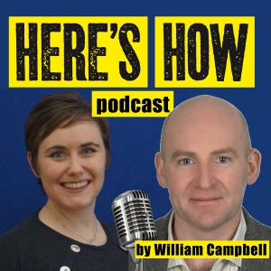 Katherine O'Keefe on Here's How podcast