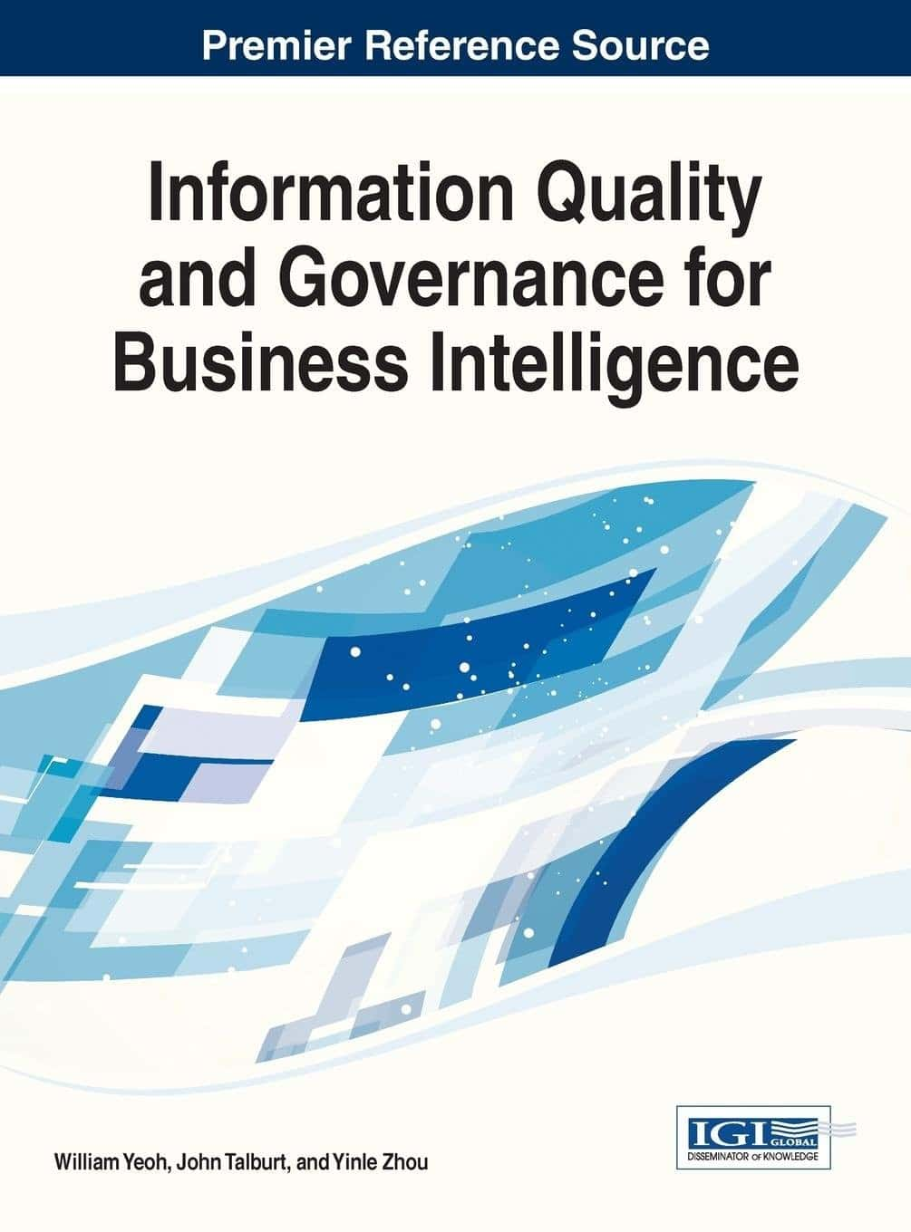 Information Quality and Governance for Business Intelligence Book Cover